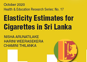 Institute of Policy Studies of Sri Lanka (IPS) proposes a New Tobacco Taxation Policy