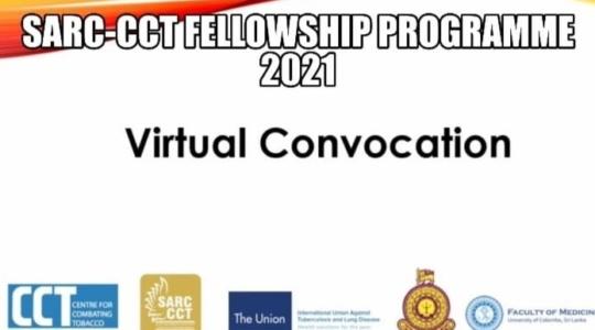 SARC-CCT Fellows' Virtual Convocation 2021